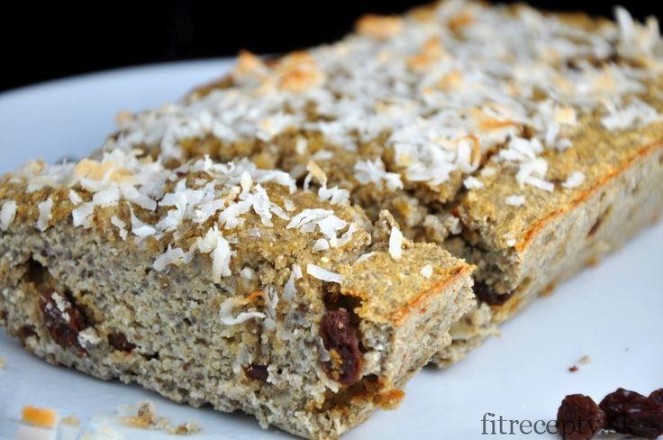 Kokosovo-banánový chlieb bez múky a cukru - FitRecepty