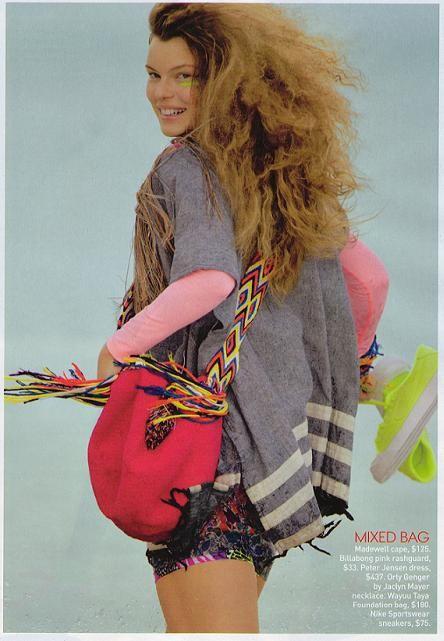 Wayuu Mochila Teen Vogue USA June 2011 issue