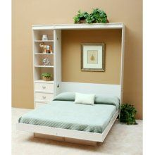 Wallbeds Transitional Birch Murphy Bed Size: Full, Hardware: ...