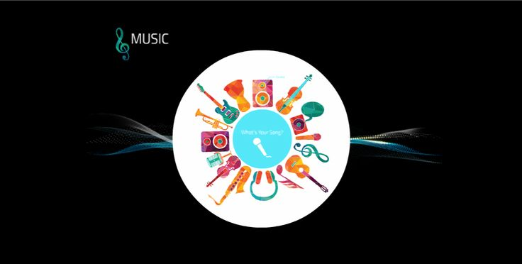 Another free Prezi template appropriate for an educational talk or class project. This one is focused on Music.