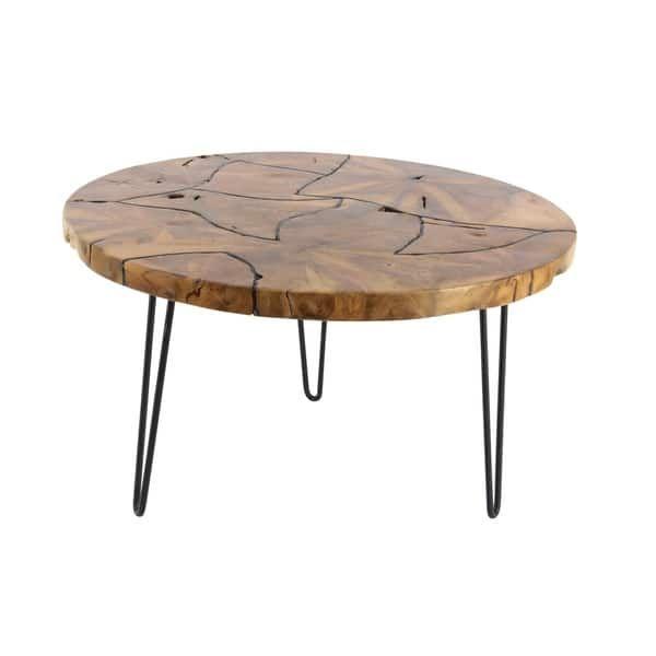 Studio 350 Teak Coffee Table 32 Inches Wide 19 Inches High Teak