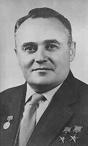 Sergei Korolev (1906 - 1966) Rocket Designer, Engineer, Space Pioneer. He was the head of the Soviet Space Program during the 1950s and 1960s, overseeing the Sputnik, Luna, Verena, Vostok and Soyuz space missions.