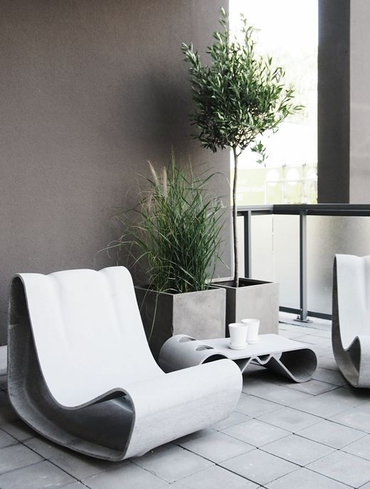 STIL INSPIRATION | Willy Guhl Loop chair | Interior for JM - Annedal 2012