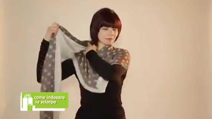 Ways to Wear a Scarf - Modi di indossare una Sciarpa