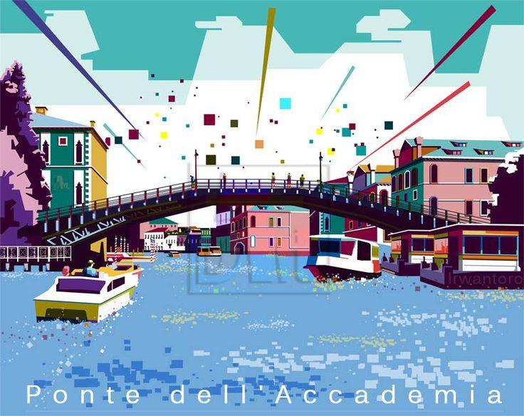 Ponte dell'Accademia di Venezia, Veneto