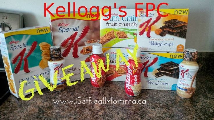 WIN Kellogg's Free products ends 03/24 CAN only