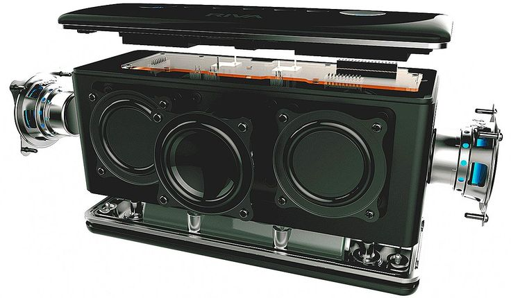 Amazon.com: RIVA TURBO X RTX01B Premium Wireless Bluetooth Speaker (Black): Electronics