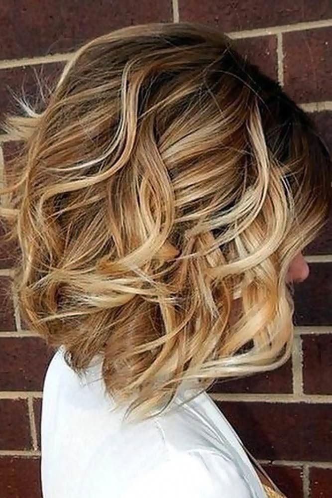 12 Ideas for Light Brown Hair Color with Highlights and Lowlights #shorthairstyles