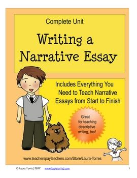 best narrative writing images teaching writing narrative essay complete unit
