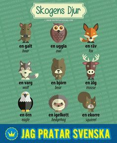 Swedish animals