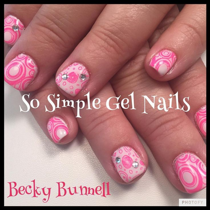 86 best SO SIMPLE hard gel nails images on Pinterest | Hard gel ...