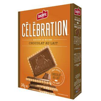 Biscuits au beurre avec tablette de vrai chocolat au lait // Butter Cookies topped with Real Milk Chocolate