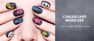 Chalkboard Manicure