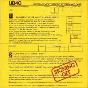 UB40. Everyone needs some in their life.