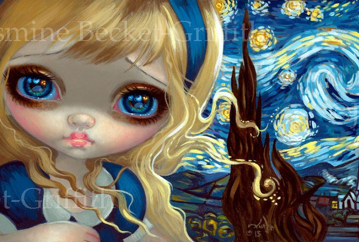Strangeling: The Art of Jasmine Becket-Griffith by strangeling