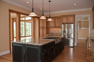 Love This Traditional Kitchen Designed By Amy Hart Of Reico Kitchen U0026 Bath  In Charlottesville. Beautiful Island In Darker Finish To Create Focal Point. Part 29