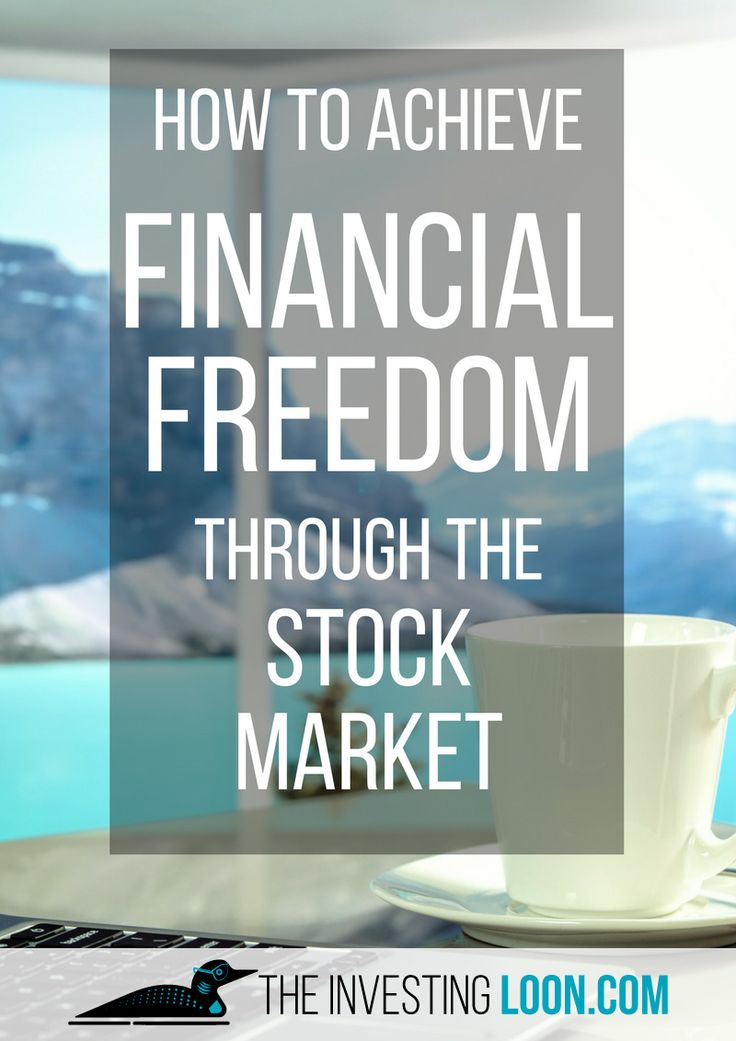 Investing in the Stock Market is an excellent way to achieve your financial freedom, you only need to stick to your goal and have a strategy to achieve it