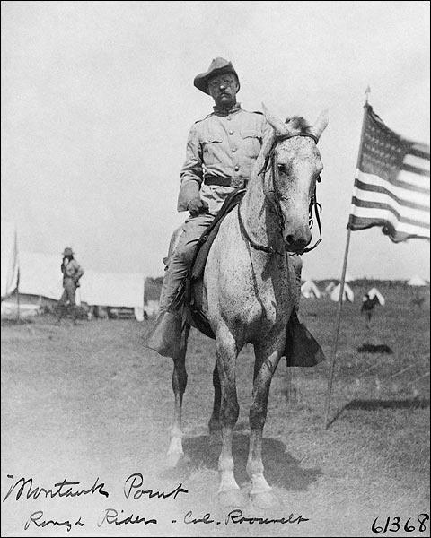 Colonel Theodore Roosevelt Rough Riders