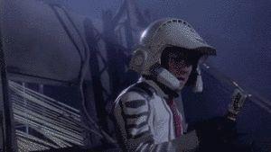 ウルトラマンティガの変身シーンがかっこいいGIF画像 created by delia@iste