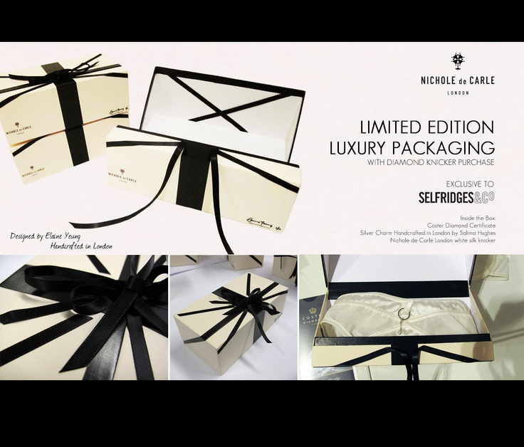 17 Best images about lingerie packaging on Pinterest ...