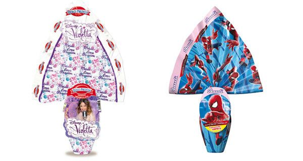 Uova di Pasqua #Disney e #Marvel: ecco quelle di Violetta, Frozen, Spider-Man, Cars e Planes