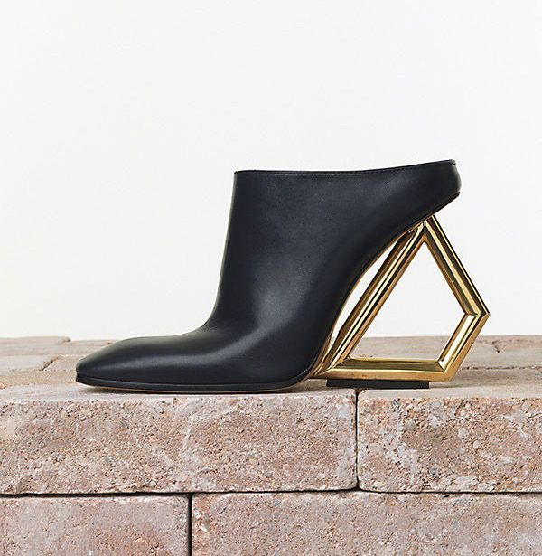 The mule, shoe of the moment  http://www.threadandmirror.com/magazine/the-mule-shoe-of-the-moment  #mule #celine #ITshoe #threadandmirror