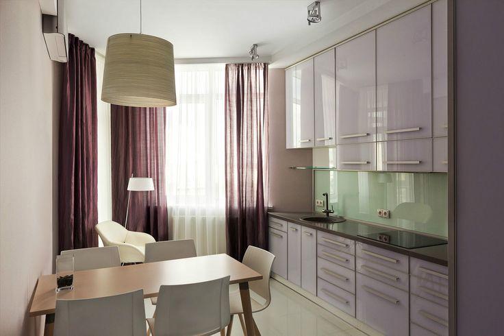 Кухня в пастельных тонах - Кухня: рабочее пространство | PINWIN - конкурсы для архитекторов, дизайнеров, декораторов
