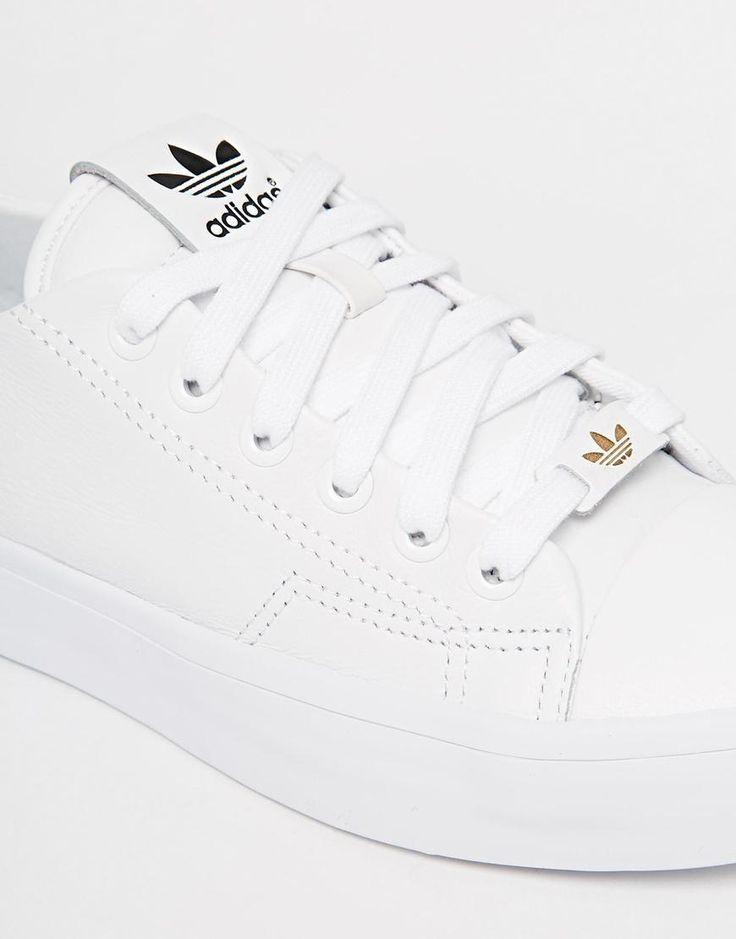 white adidas original trainers