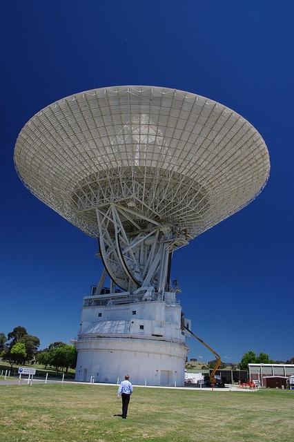 NASA JPL - Canberra Deep Space Communication Complex, Tidbinbilla, a short drive from the city of Canberra, Australian Capital Territory, Australia.