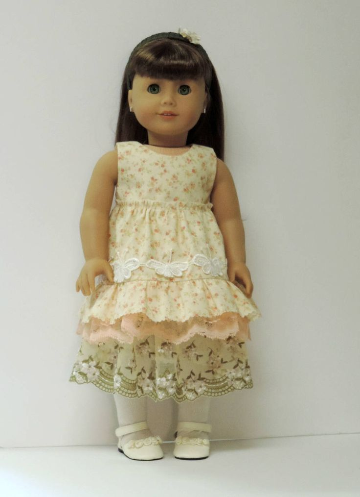 18 inch American doll clothes Mori girl outfit by OneGirlsDream on Etsy https://www.etsy.com/listing/523285184/18-inch-american-doll-clothes-mori-girl