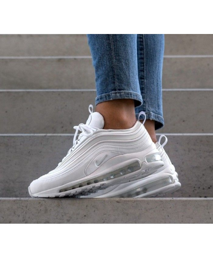 promo code 539d2 266a5 Nike Air Max 97 Ultra 17 White Trainers