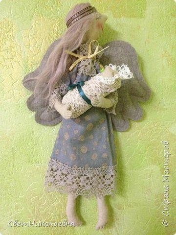 Куклы День матери Шитьё Мамино счастье Ткань фото 1