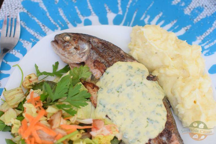 Pisztráng a tasakban, halat is lehet szuvidálni! #pisztráng #nyár #sousvide #nyár #recept #egyszerű