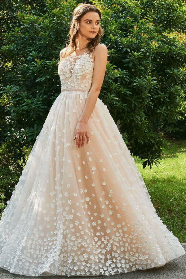 Backless Lace Color Wedding Dress In 2018 Wedding Dress