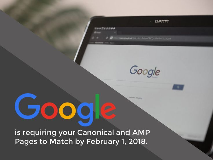 Google is requiring your Canonical and AMP Pages to Match in 2018 http://ift.tt/2B55jGb  As announced by Google last November 16 2017 they are enforcing a policy that would require Canonical content to be compatible with the AMP page content. With AMP becoming an integral feature in various domains this announcement aims to improve the overall user experience especially for mobile users. Google set the deadline which is on February 1 2018.  With the abundance of smartphones and tablets more…