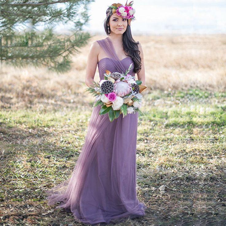 2017 New Arrival Vestidos De Novia Lavender Bridesmaid Dresses Vintage Vestido De Festa Longo US 2 4 6 8 In Stock Promotion