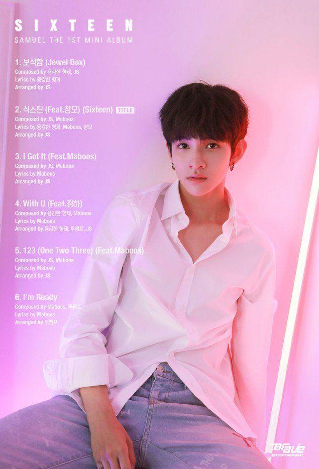 'Produce 101's Samuel Kim drops tracklist + cover image | allkpop.com