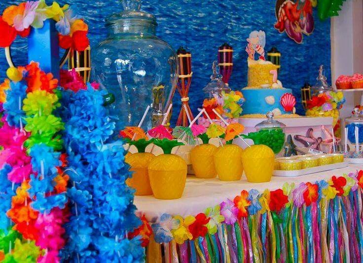 Pool Party Decorations For Teens