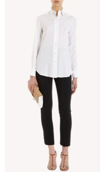 Barneys New York Button Front Blouse