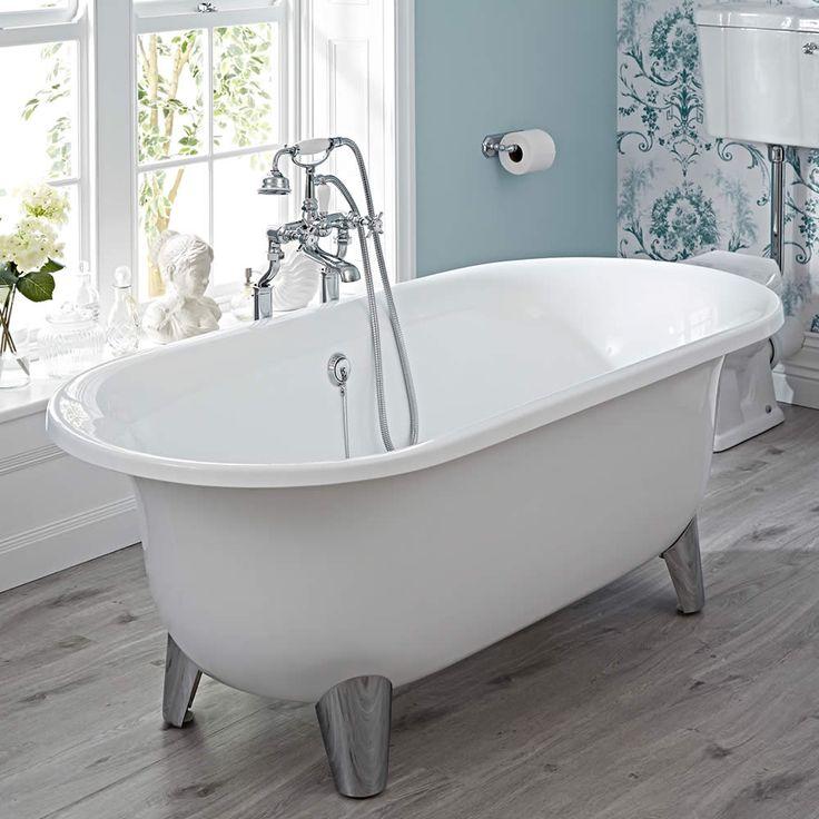 17 meilleures id es propos de baignoire sur pieds sur pinterest baignoire autoportante for Baignoire sur pieds