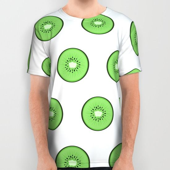 #kiwi #alloverprint #tshirt