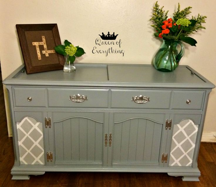 Antique Stereo Cabinet – Before and After | Queen of Everything