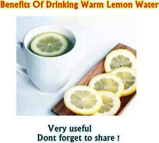 Benefits Of Drinking Warm Lemon Water – Helprecipes