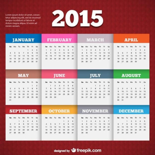 The 25+ best 2015 calendar template ideas on Pinterest Free - social media calendar template