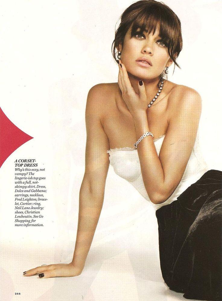 Bangs:  Olga Kurylenko - Glamour Magazine (December 2008)