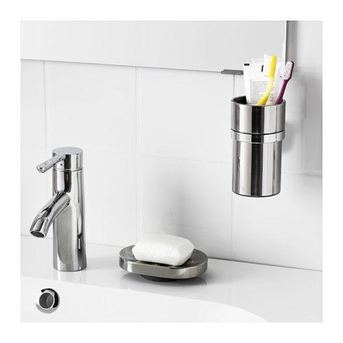 Les 25 meilleures id es de la cat gorie distributeur de savon sur pinterest salle de bain - Porte savon ikea ...