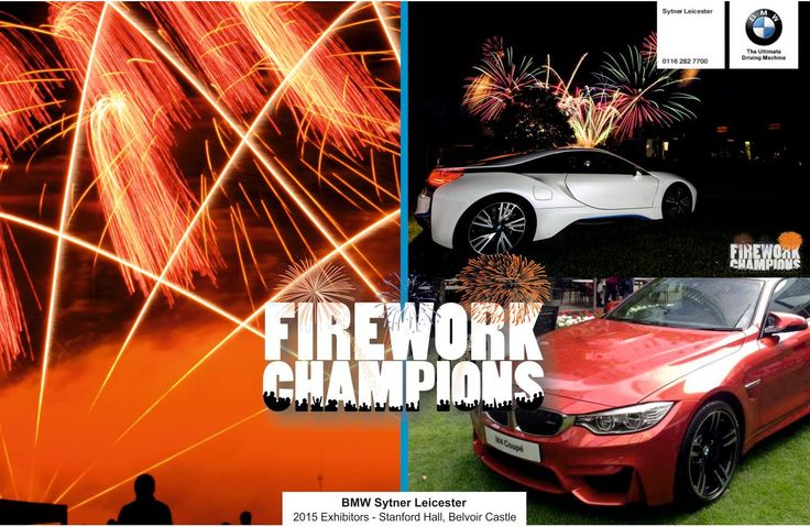 Heading to Stanford Hall, Leicestershire this Saturday and Belvoir Castle on the 8th of August, we're delighted to be joined by Sytner BMW, Leicester! http://www.belvoirfireworks.co.uk/