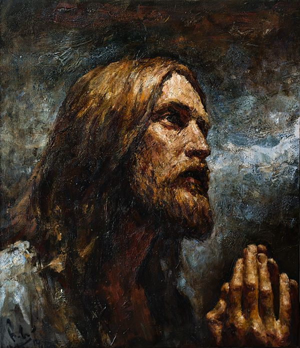 the agony of christ The fear and pain that this animal felt is only a small picture or type of the agony of christ jesus' agony in the garden is the antitype, the fulfillment.