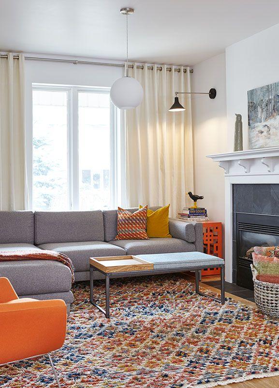 Grey And Orange Living Room Decor Living Room Orange Orange Chairs Living Room Grey And Orange Living Room