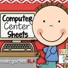 These+Sheets+are+also+available+in+the+Kindergarten+Bundle+Pack. Computer+Center+Sheets+for+Kindergarten~BUNDLED  How+do+you+manage+a+student+compu...